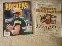 "2012 Green Bay Packers Official Yearbook or Sports Illustrated ""The Peerless Packers"" in Chicago, Illinois"