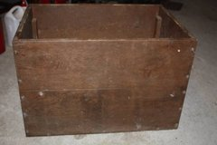 Old Oak Box / Table/ Toy box/ Tool Chest in Houston, Texas