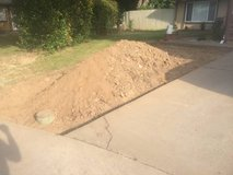 free a pile clean fill dirt removed from the front yard home Have a easy access in Travis AFB, California