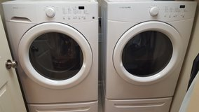 Frigidare Washer & Dryer with Pedestals in Baytown, Texas