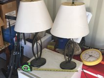 2 End Table Lamps in 29 Palms, California