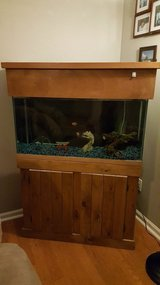 33 gal fish tank with stand and hood in Camp Lejeune, North Carolina