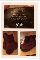 Leather Boots in Ramstein, Germany