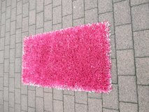 hot pink shag rug in Ramstein, Germany