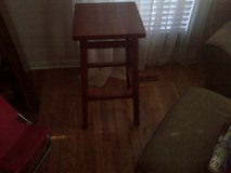 2 wooden stools in Bolingbrook, Illinois