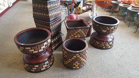 Mexican Pottery in Fort Polk, Louisiana