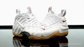 White Gucci foamposite size 10 in Ramstein, Germany