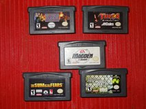 Five Nintendo Game Boy Advance Games in Tomball, Texas