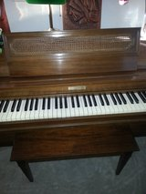 "Baldwin acrosonic 36"" Spinet piano serial # 845124 in Shorewood, Illinois"