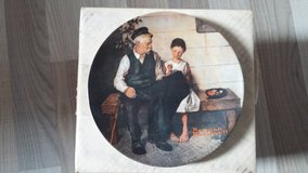 Norman Rockwell Collectors Plate - The Lighthouse Keeper's Daughter in Ramstein, Germany