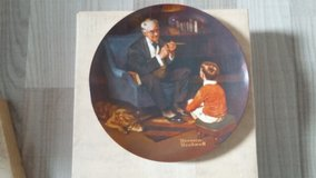 Norman Rockwell Collectors Plate - The Tycoon in Ramstein, Germany