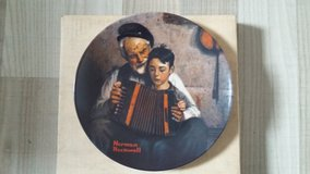 Norman Rockwell Collectors Plate in Ramstein, Germany