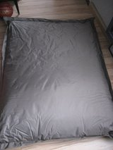 Original Fatboy beanbag chair, brown, 55 x 71 inches in Ansbach, Germany