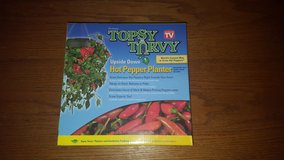 New Topsy Turvy Hot Pepper Planter in Fort Bliss, Texas