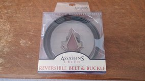 Assassins Creed reversible belt and buckle in Alamogordo, New Mexico