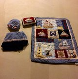 Nautical theme bedding set and accessories in Lockport, Illinois