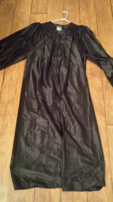 "Graduation Robe, 6'0"" to 6'2"", Black in Kingwood, Texas"