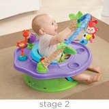 Summer Infant 3-Stage SuperSeat Deluxe Giggles Island: Positioner, Activity Seat, and Booster in Heidelberg, GE