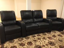 4 Leather  Home Theater Seats for Sale!!!! in Fort Riley, Kansas
