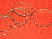 6 silver bracelets - Vintage in Houston, Texas