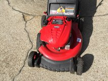 "Troy-Bilt 21"" Push Lawn Mower and Black and Decker Electric Weed Eater in Tyndall AFB, Florida"