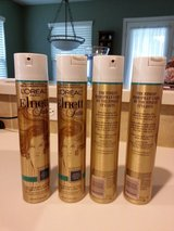 4 cans Elnett Satin Extra Strong Hold Hair Spray by L'oréal - New in Conroe, Texas