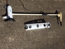 Jarvis marine Trolling Motor with Like new Deep Cycle Battery in Fort Campbell, Kentucky