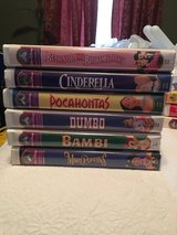 Disney VHS Tapes in Camp Lejeune, North Carolina