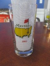 2 Masters Past Champions Souvenir Glasses (New never been used) in Warner Robins, Georgia