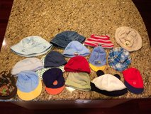 Collection of 3-9 mo baby hats (17 items) in Naperville, Illinois