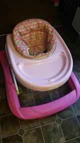 Pink / Green Whale Baby Walker in Fort Campbell, Kentucky