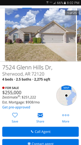 Gorgeous 4 bed 2.5 bath only minutes from base! in Little Rock, Arkansas