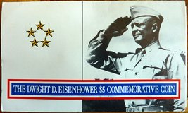 D.D. Eisenhower $5.00 Commemorative in Ramstein, Germany