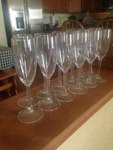 Fluted Wine Glasses in Bolingbrook, Illinois