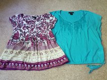 Lot of 2 Calvin Klein tops size small in St. Charles, Illinois