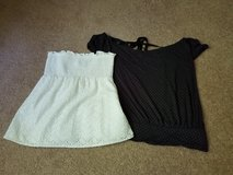 Lot of 2 Express tops size small in St. Charles, Illinois