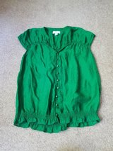 Green top by Loft size small in St. Charles, Illinois