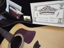 Washburn Acoustic Guitar (Anniversary Edition) in Camp Lejeune, North Carolina