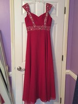Red Ball Gown in Camp Lejeune, North Carolina