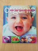 Organic baby and toddler cookbook in St. Charles, Illinois