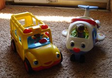 Little People Airplane and School Bus with Sound in Clarksville, Tennessee