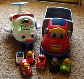 Little People Car Hauler and Airplane with Sound in Clarksville, Tennessee