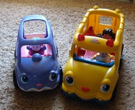 Little People School Bus and Car in Clarksville, Tennessee
