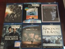 Blue Ray movies in Fairfield, California