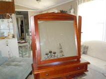DRESSER TOP MIRROR  --  VINTAGE in Valdosta, Georgia