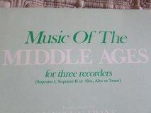Music of the middle ages 16 pieces in Aurora, Illinois