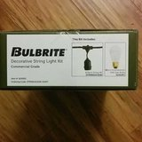 Brand New Bulbrite Decorative String Light Kit in Los Angeles, California