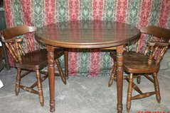 """Solid Wood Table and Chairs """"The Back Forty"""", Adel in Moody AFB, Georgia"""