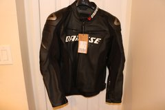 Racing D1 Estivo Leather Motorcycle Jacket in Los Angeles, California