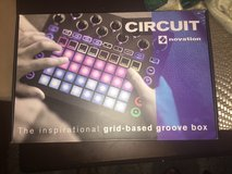 Novation Circuit Drum Machine, Pad Controller Grid-Based Groove Box in Los Angeles, California